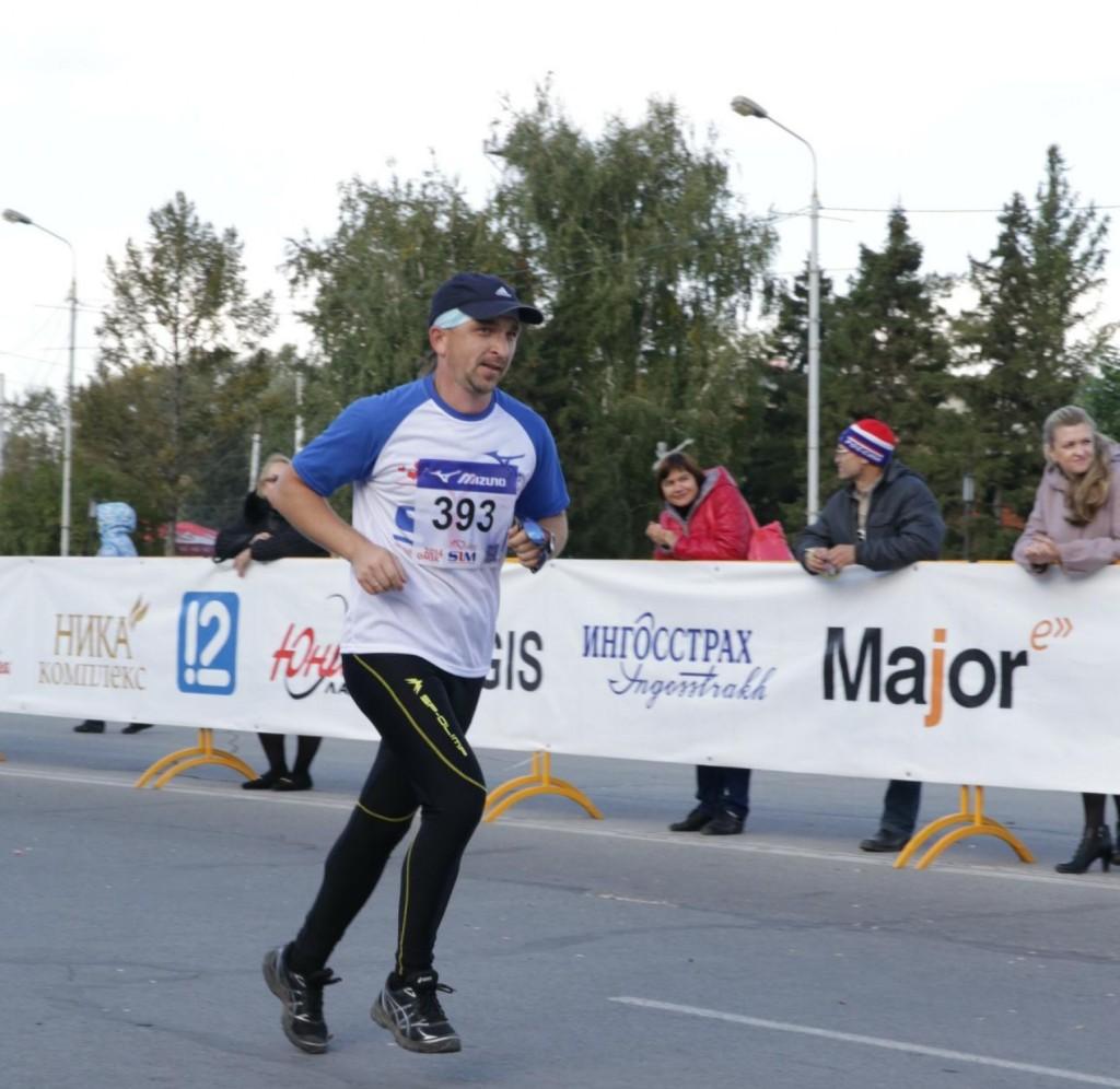 Омский марафон-2014