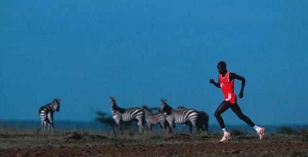 кенийский бегун