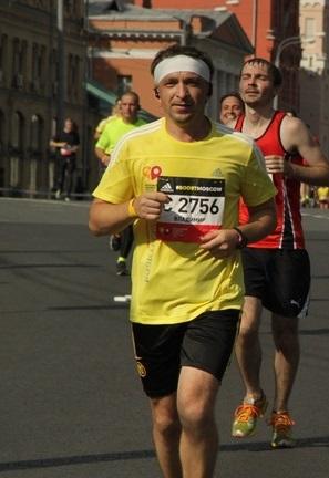 Московский марафон-2015. Мой опыт.