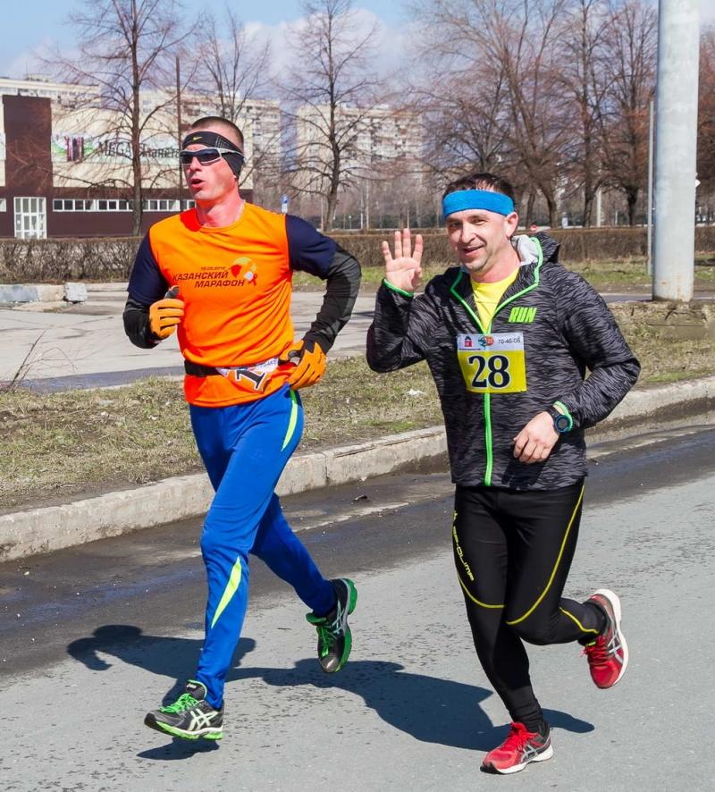 7-й легкоатлетический марафон в г.Тольятти