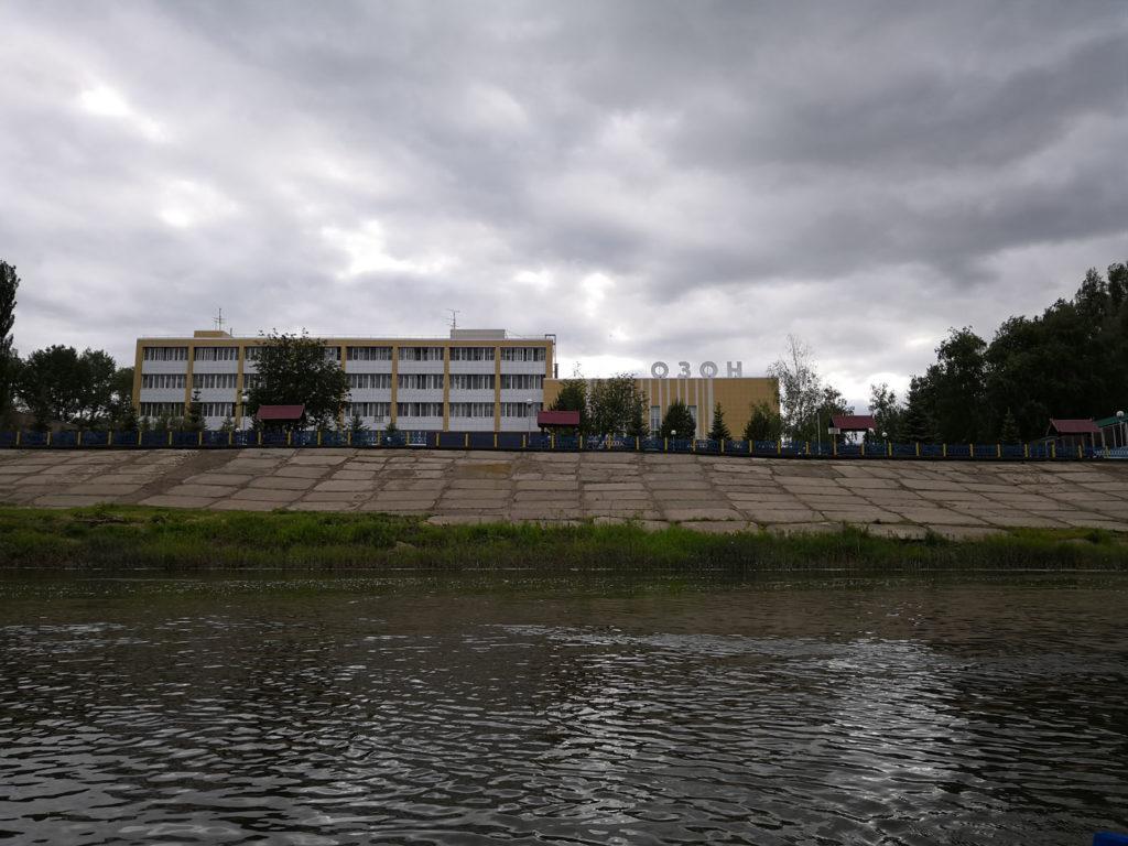 Сплав по Сакмаре в Оренбурге