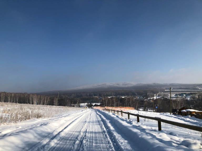 Зима в Ташле.
