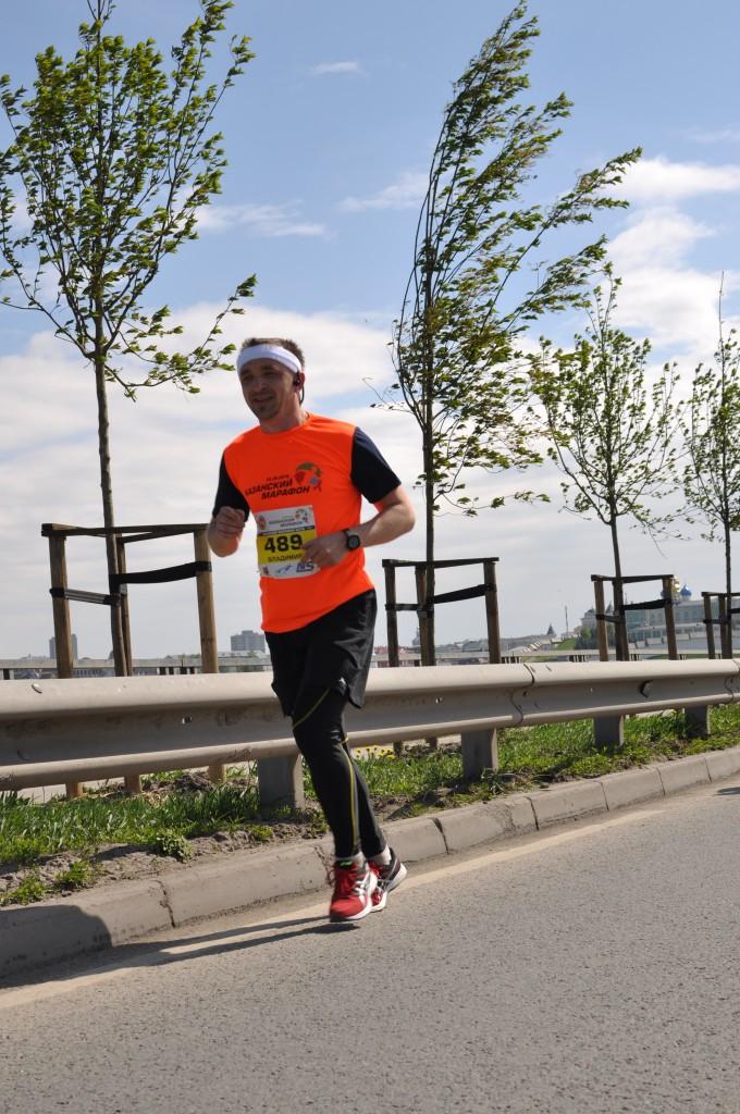 Казанский марафон 2016 -ул.декабристов