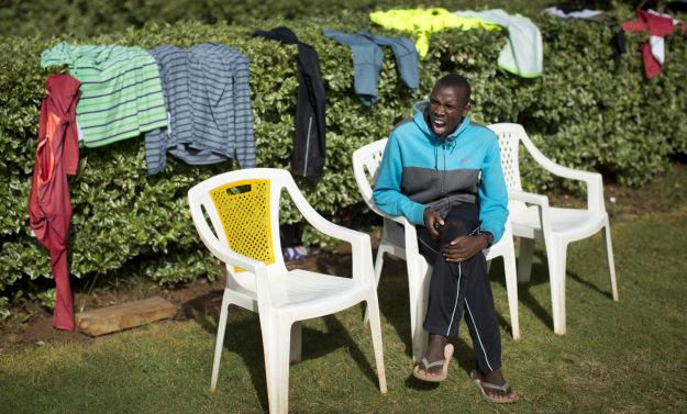 Отдых в кенийском тренировочном лагере