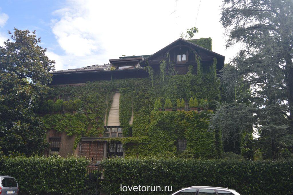 Зеленый дом в Милане