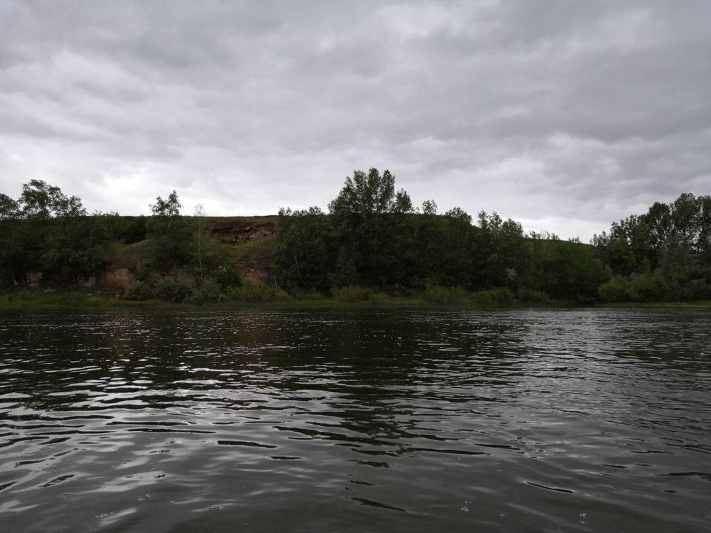 Правый берег реки
